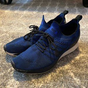 Air Zoom Mariah Flyknit Racer Dark Blue Size 9